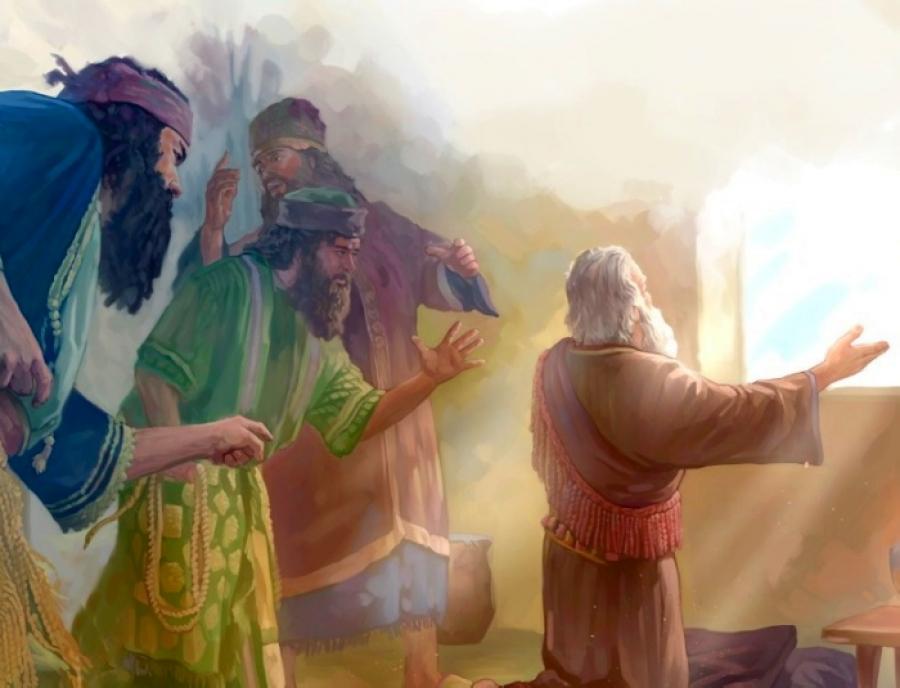 Даниил пророк молится Богу ветхий завет библия