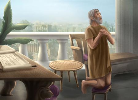 Даниил пророк Молитва Богу Даниила и Гавриил 2