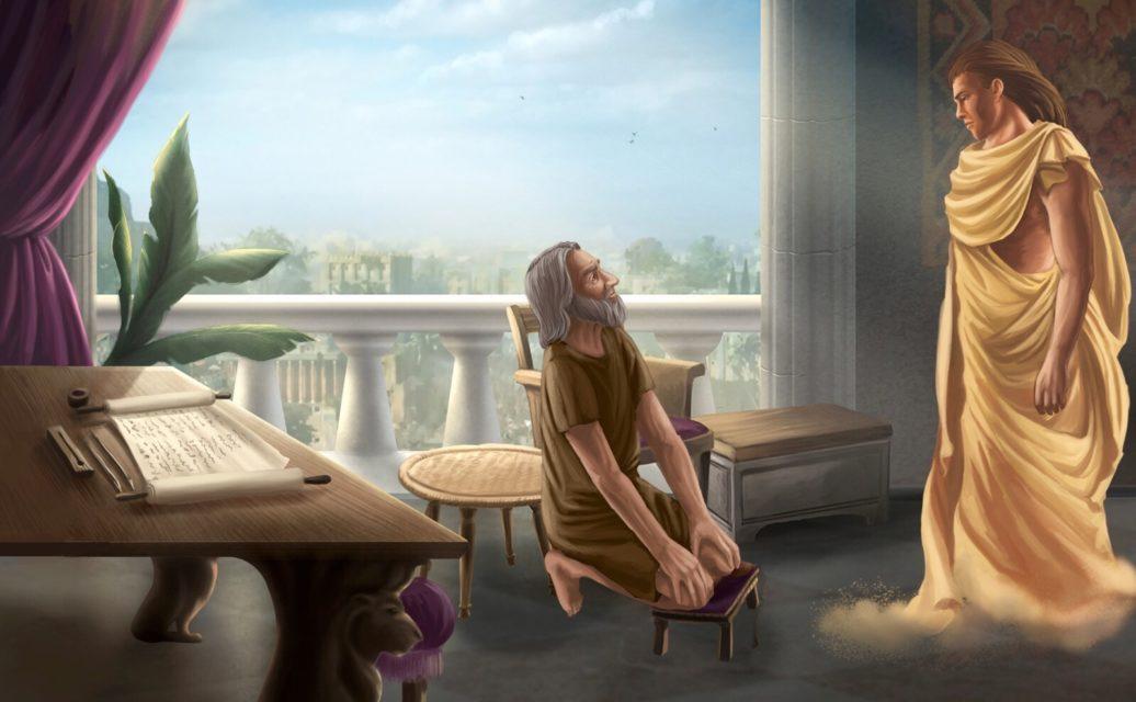 Даниил пророк Молитва Богу Даниила и Гавриил 3
