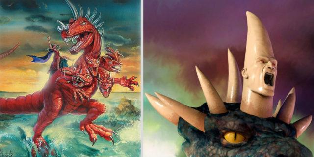 Даниил пророк рассказывает сон о четырёх зверях дракон ветхий завет библия 3
