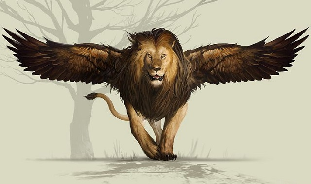 Даниил пророк рассказывает сон о четырёх зверях лев ветхий завет библия 2