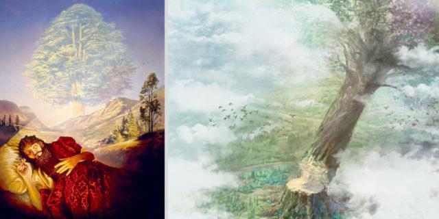 Даниил пророк рассказывает сон царя навуходоносора о дереве ветхий завет библия 2