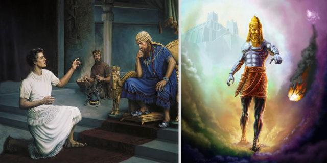 Даниил пророк рассказывает сон царя навуходоносора ветхий завет библия 5