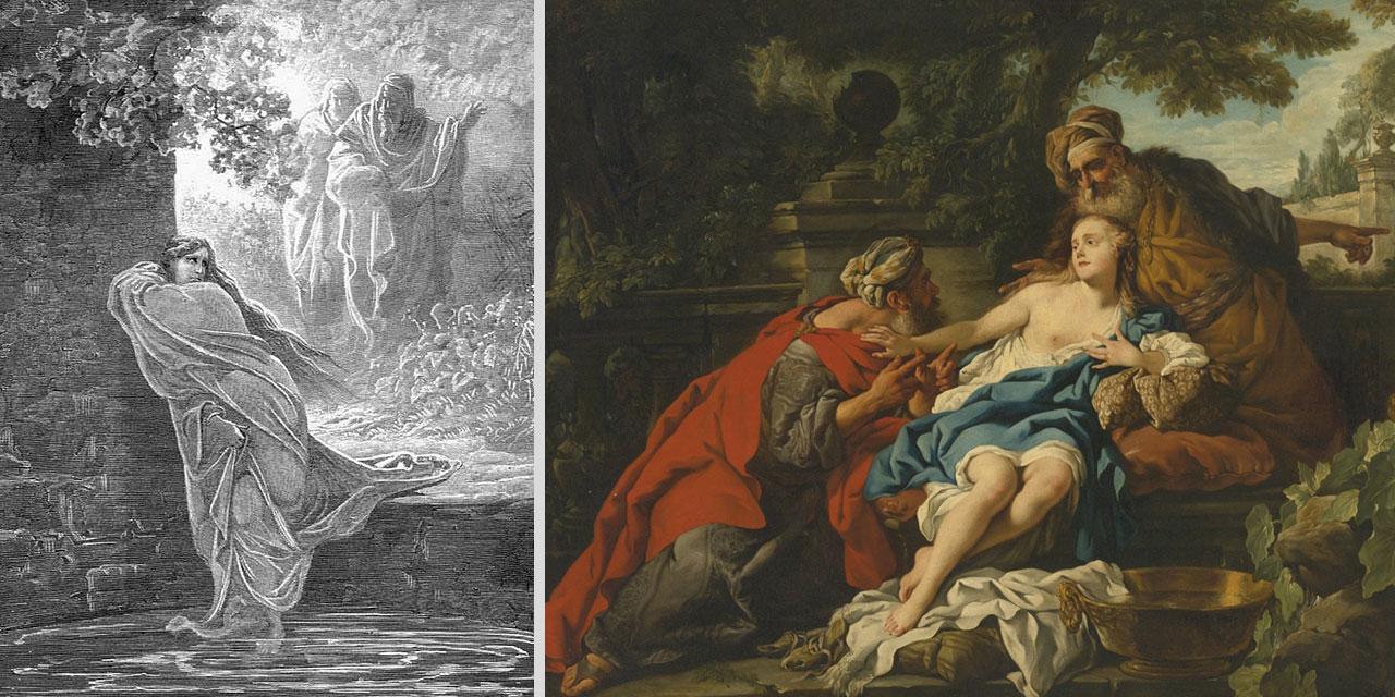 Даниил пророк старца судьи и Сусанна ветхий завет библия 1
