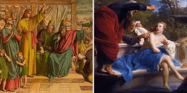 Даниил пророк старца судьи и Сусанна ветхий завет библия 2