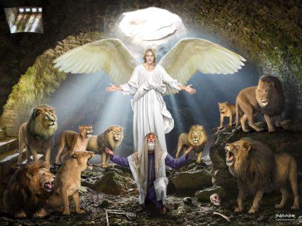 Даниил пророк во рву со львами ветхий завет библия 1