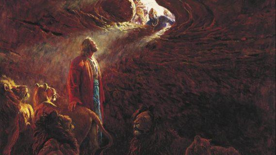 Даниил пророк во рву со львами ветхий завет библия 2
