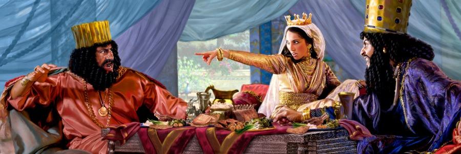 Есфирь царица и царь Артаксеркс Аман ветхий завет Библия 2