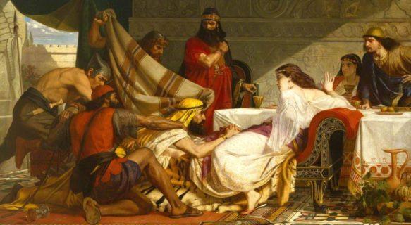 Есфирь царица и царь Артаксеркс Аман ветхий завет Библия 3