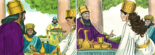 Есфирь царица и царь Артаксеркс Аман ветхий завет Библия