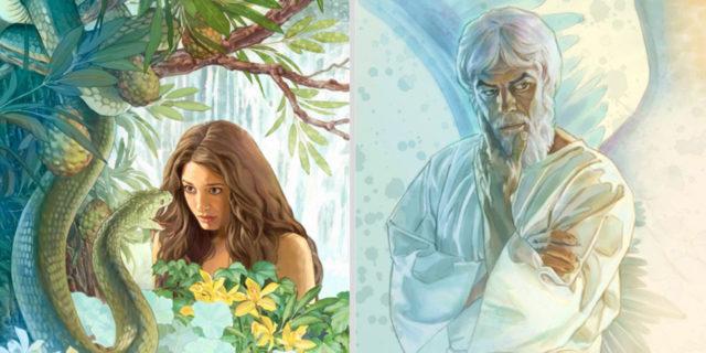 И сказал змей жене Нет, не умрёте но знает Бог Бытие Ветхий завет Библия