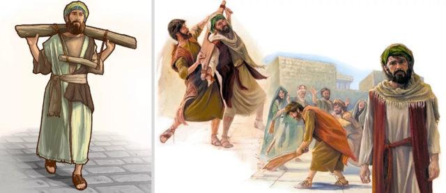 Иеремия пророк пророк Анания взял ярмо с шеи Иеремии пророка и сокрушил его ветхий завет библия