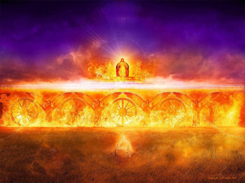 Иезекииль пророк видение Господа Бога Саваофа ветхий завет библия 1