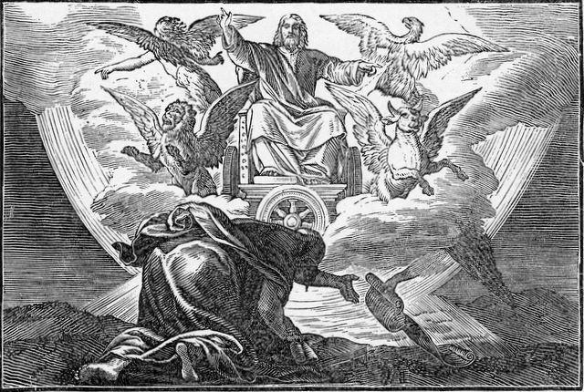 Иезекииль пророк видение Господа Бога Саваофа ветхий завет библия 2