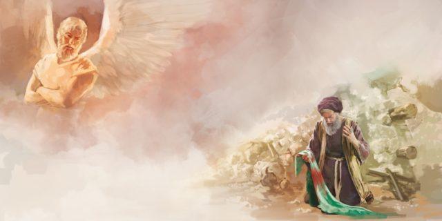 Иов праведный всё теряет остаётся нагим ветхий завет библия