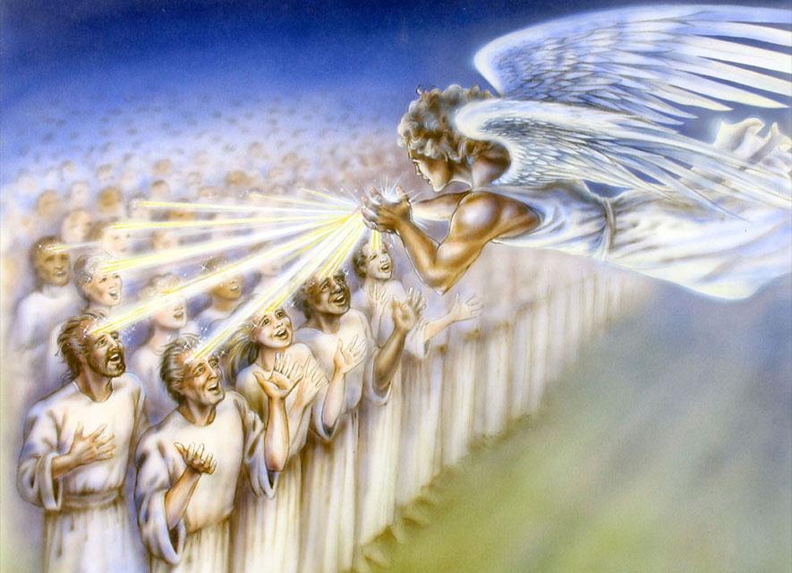 Откровение Иоанна Богослова И видел я иного Ангела, восходящего от востока солнца и имеющего печать Бога живого новый завет библия