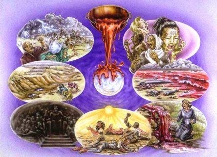 Откровение Иоанна Богослова Идите и вылейте семь чаш гнева Божьего на землю новый завет библия