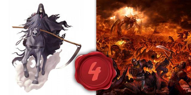 Откровение Иоанна Богослова конь бледный, и на нём всадник, которому имя смерть, и ад следовал за ним новый завет библия