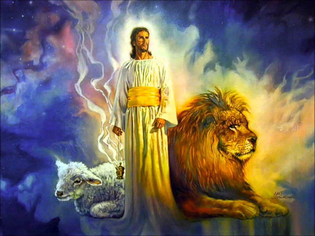Откровение Иоанна Богослова лев от колена Иудина, корень Давидов, победил, и может раскрыть эту книгу и снять семь печатей её новый завет библия