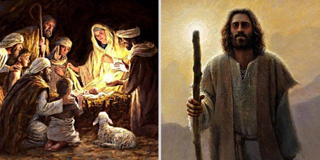 Откровение Иоанна Богослова родила она младенца мужеского пола, которому надлежит пасти все народы жезлом железным новый завет библия