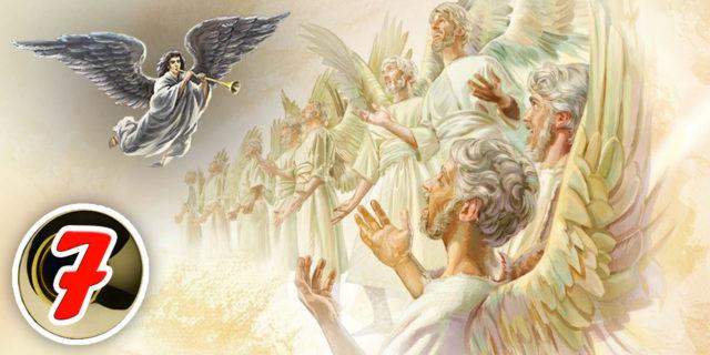 Откровение Иоанна Богослова седьмой Ангел вострубил, и раздались на небе громкие голоса новый завет библия