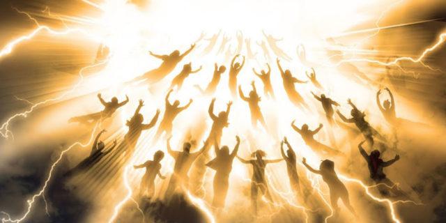 Откровение Иоанна Богослова восхищение к Господу по воздуху новый завет библия