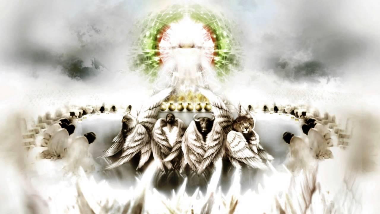 Откровение Иоанна Богослова вот, престол стоял на небе, и на престоле был Сидящий новый завет библия