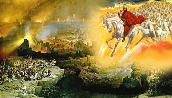 Откровение Иоанна Богослова второе пришествие Иисуса Христа со тьмою святых ангелов новый завет библия