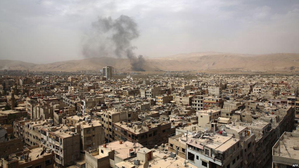 Сирия Дамаск пророчество о разрушении