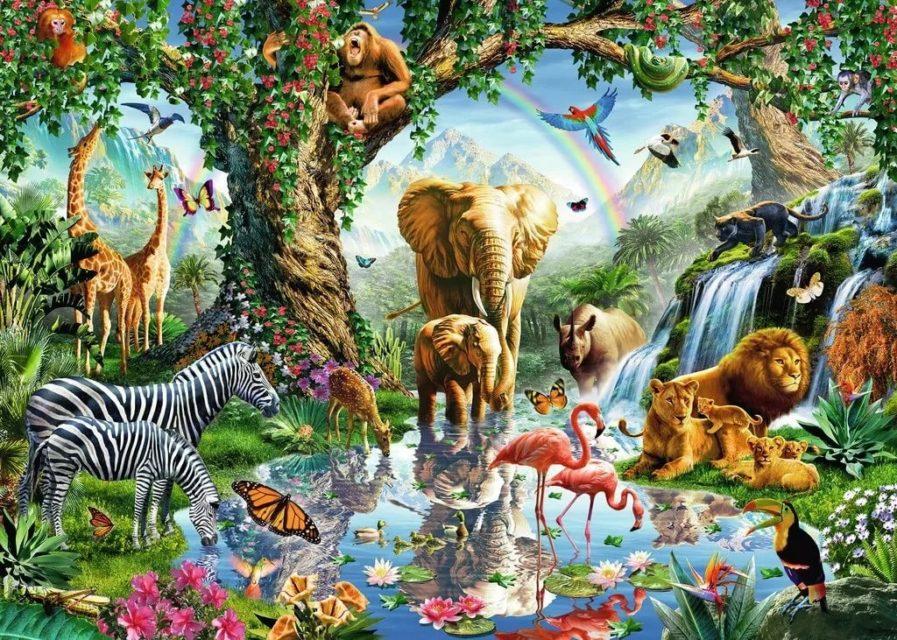 Сотворение всех живых существ Бытие Ветхий завет Библия