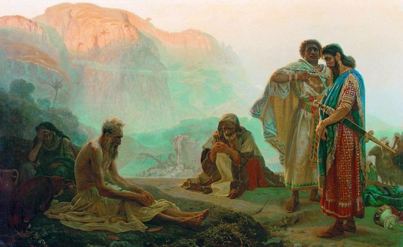 Иов праведный и его друзья ветхий завет библия 1