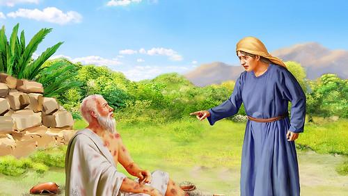 Иов праведный и жена ветхий завет библия 1