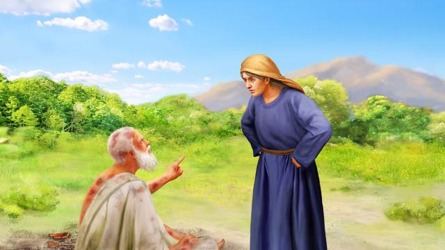 Иов праведный и жена ветхий завет библия 2