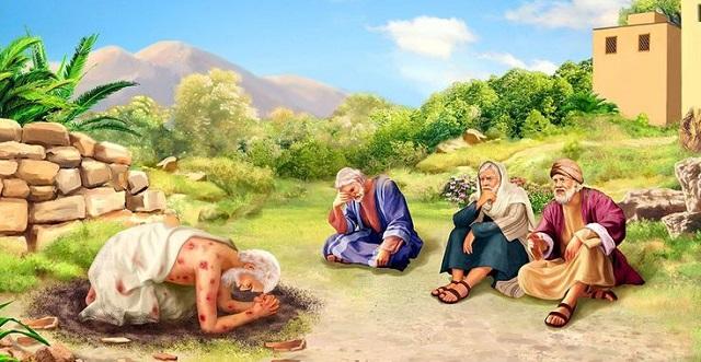 Иов праведный многострадальный и его друзья, говорящие с ним ветхий завет библия 3