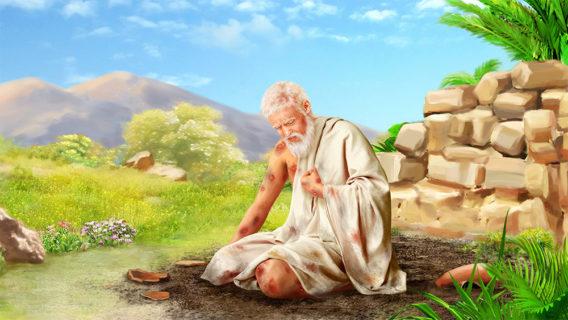 Иов праведный поражается проказою от дьявола ветхий завет библия