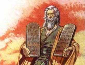 Моисей десять заповедей и две скрижали завета исход ветхий завет библия