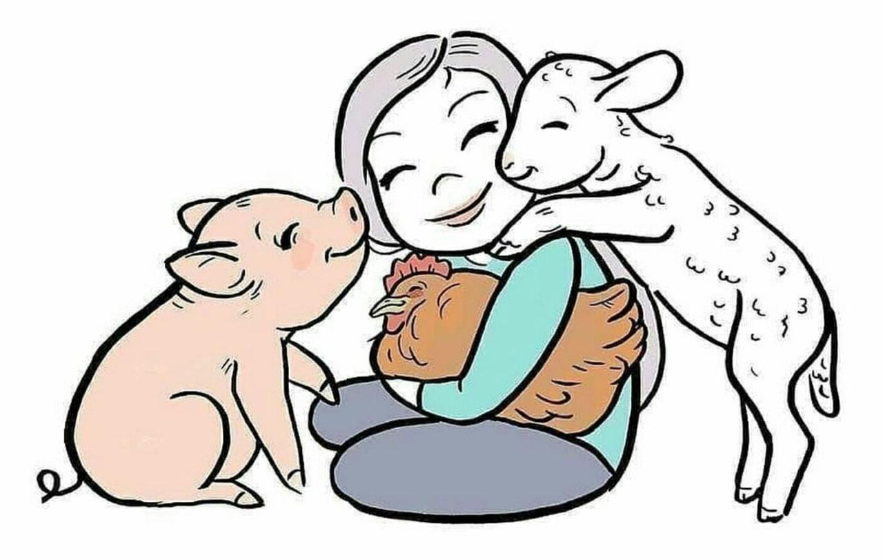 Сельскохозяйственные животные должны быть нам благодарны #ВЕГЕТАРИАНСТВО #ВЕГАН #ВЕГАНСТВО #ВЕГЕТАРИАНЕЦ #GoVegan #ХРИСТОЛЮБ — christolube.ru