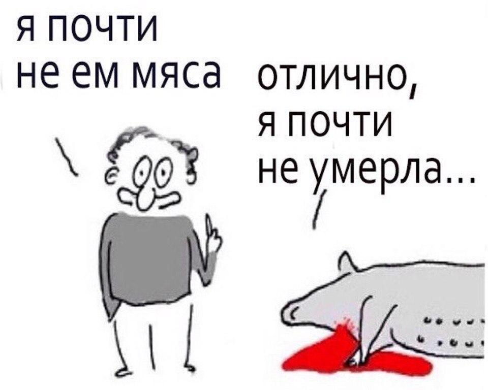 Я почти не ем мяса — Отлично, я почти не умерла #ВЕГЕТАРИАНСТВО #ВЕГАН #ВЕГАНСТВО #ВЕГЕТАРИАНЕЦ #GoVegan #ХРИСТОЛЮБ — httpschristolube.ru