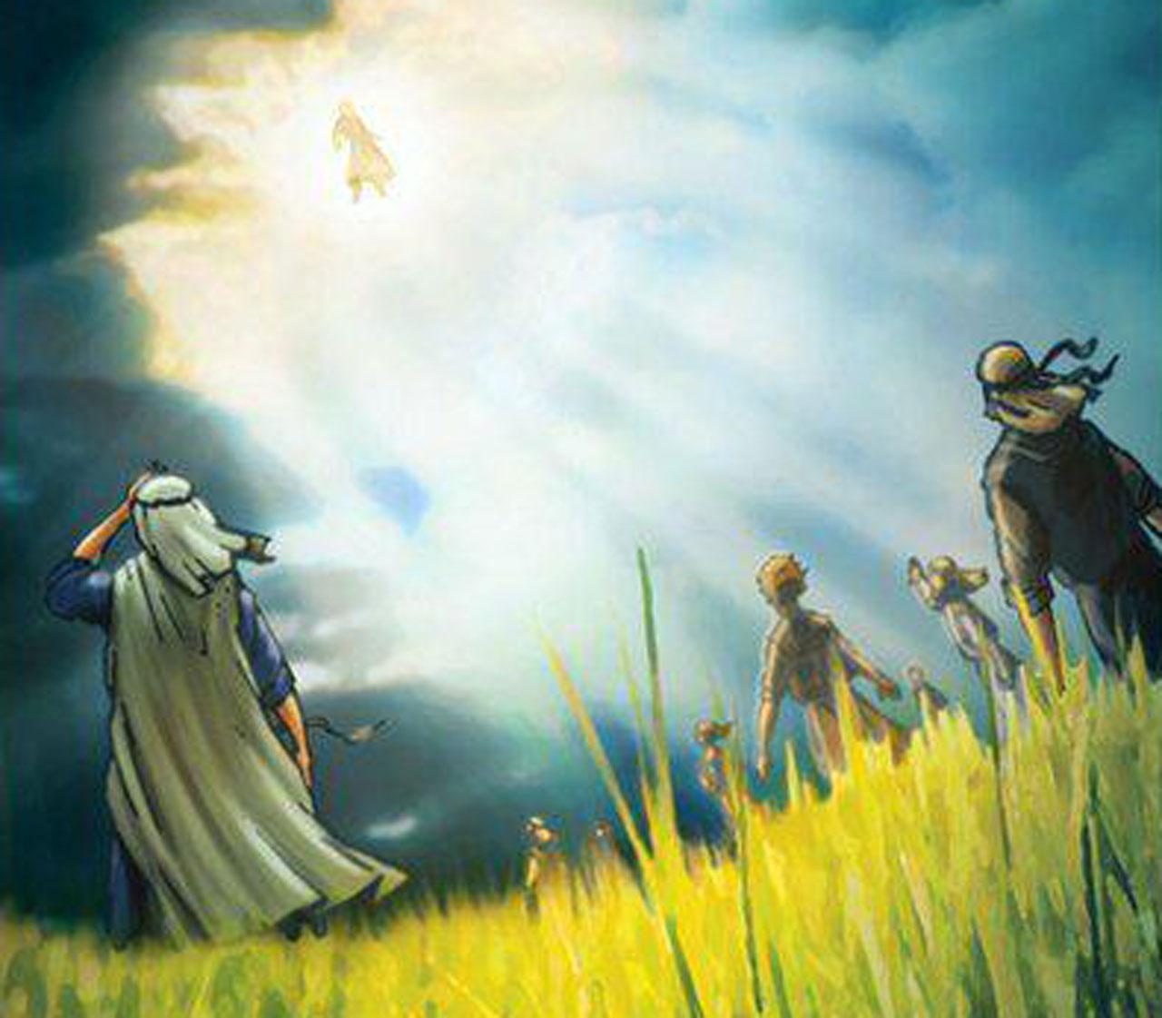 Даниил пророк и муж, облеченный в льняную одежду ветхий завет библия