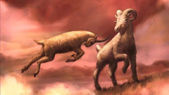 Даниил пророк рассказывает сон об овне и козле ветхий завет библия 5