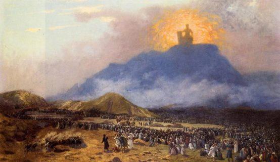 Моисей на горе Синай и скрижали исход ветхий завет библия