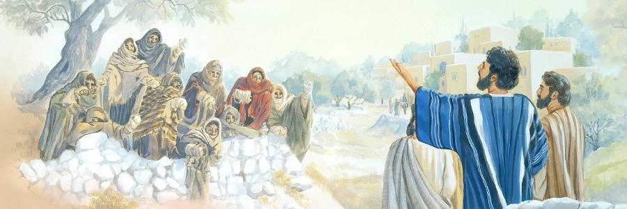 Иисус Христос исцеляет 10 прокажённых евангелие новый завет библия