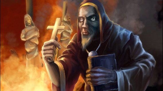 Инквизиция. Сжигание еретиков 2 евангелие новый завет библия
