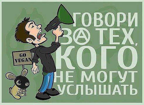 Говори за тех, кого не могут услышать Голос животных. #ВЕГЕТАРИАНСТВО #ВЕГАН #ВЕГАНСТВО #ВЕГЕТАРИАНЕЦ #GoVegan #ХРИСТОЛЮБ — christolube.ru
