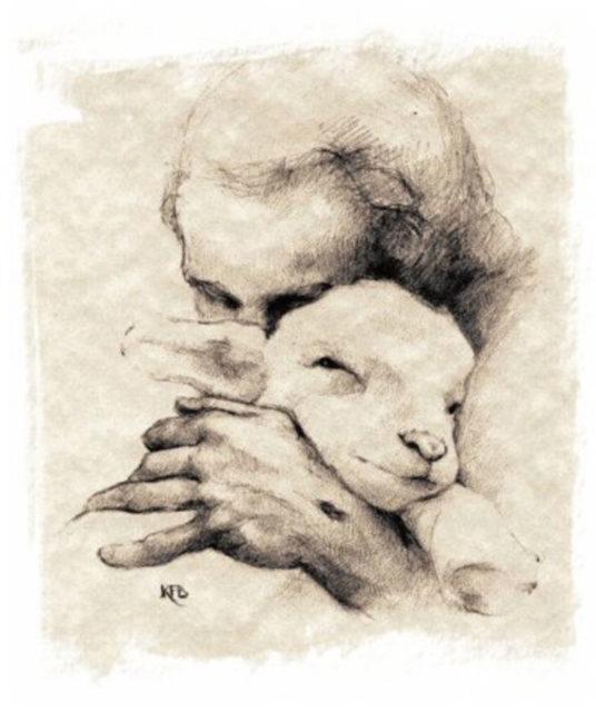 Иисус Христос — добрый пастырь рассказывает притчу о потерянной овце евангелие новый завет библия