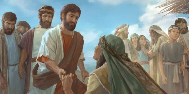 Исцеление кровоточивой, прикоснувшийся с верою к Иисусу Христу евангелие новый завет библия 2